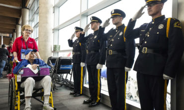 Honor Flight DFW thanks heroes