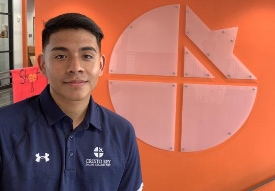 Cristo Rey senior draws closer to dream of becoming architect