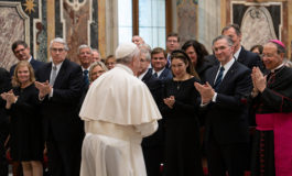 Generous help of Knights counters culture of indifference, pope says