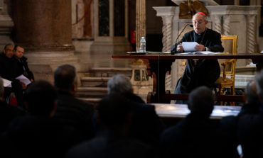 In prepared speech, pope warns clergy on pitfalls of bitterness