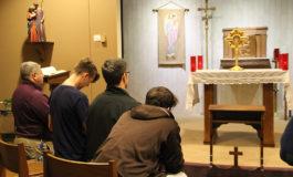 Men take up 90-day challenge of prayer, asceticism, fraternity