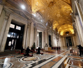 COVID-19 is not God's judgment, but a call to live differently, pope says
