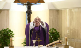Pope offers Mass for those living in fear of pandemic