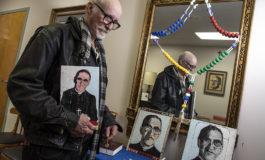 Retrato de un  artista inspirado en  San Romero