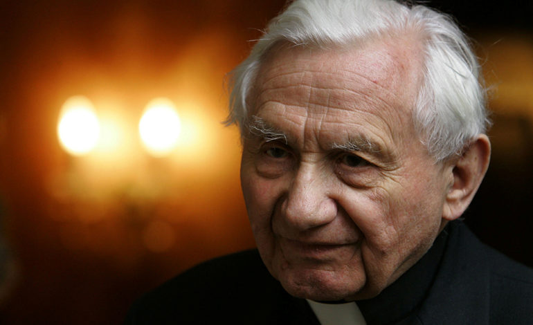 Msgr. Ratzinger, retired pope's brother, dies at 96