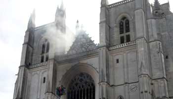 French police suspect arson was cause of fire at Nantes cathedral