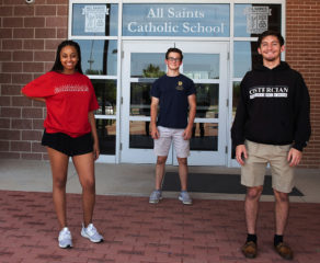 Former All Saints classmates rise to top of the class