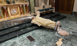 Vandalism at El Paso Cathedral destroys nearly 90-year-old statue of Jesus