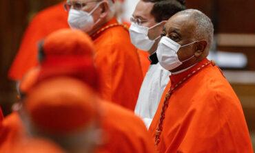 Pope creates 13 new cardinals, including Washington archbishop