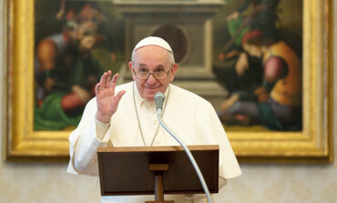 Every call of God is a call of love, pope says