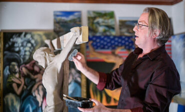 Catholic sculptor hopes to inspire with his liturgical art