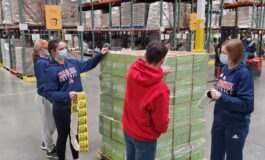 JPII athletes step up to help those in need after historic winter storm
