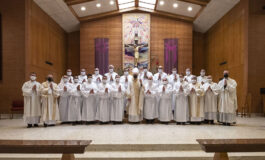 Diaconate candidates take step closer to ordination