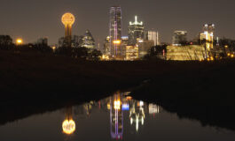 Dallas downtown skyline turns 'golden' on April 5