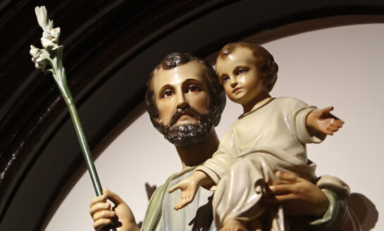 Father Bayer: St. Joseph and Father's Day