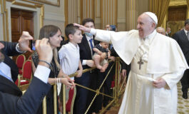 Permanent deacons are reminder of the power of service, pope says
