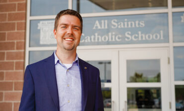 As president, Campbell looks to build upon All Saints Catholic School's successes