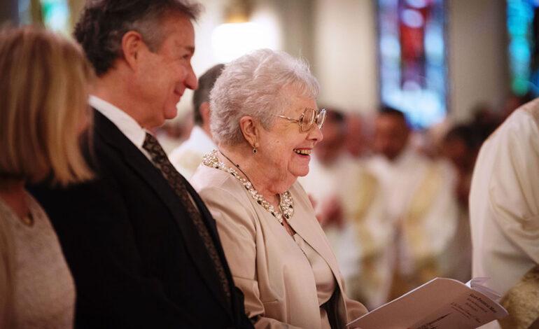 Geraldine Burns, mother of Bishop Burns, dies at 89