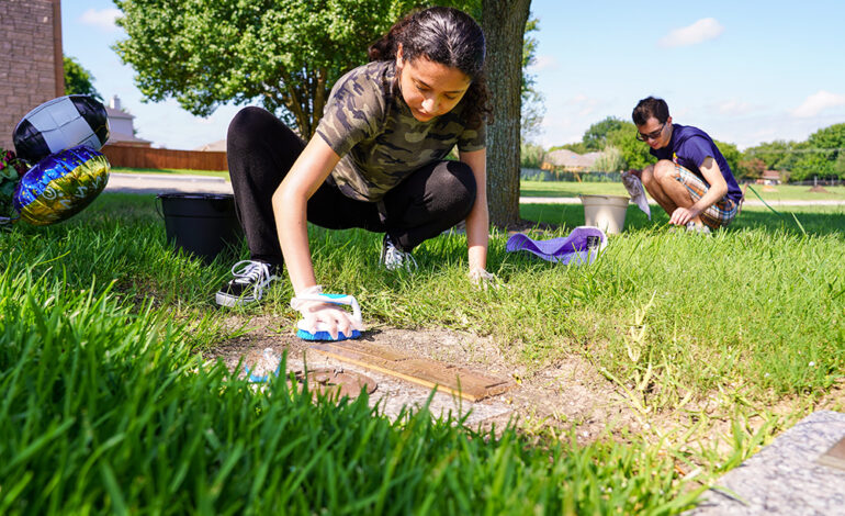 Parishes' summer mission work inspires youth to serve