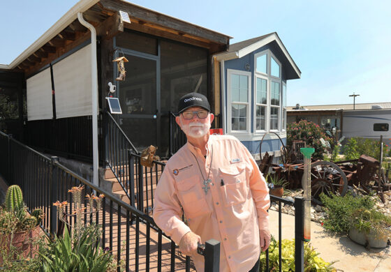 Texas village puts an exclamation point on its effort to end homelessness